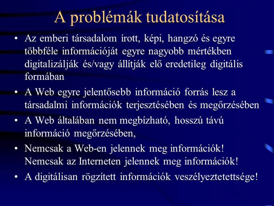 Elektronikus Periodika Archivum http://epa.oszk.hu 2001.