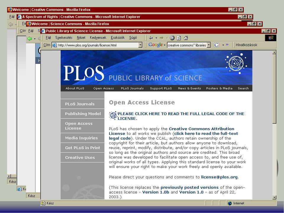 A Yahoo és a Google keresőjébe beépült CC F http://search.yahoo.com/cc F http://www.google.com/advanced_search?hl=en