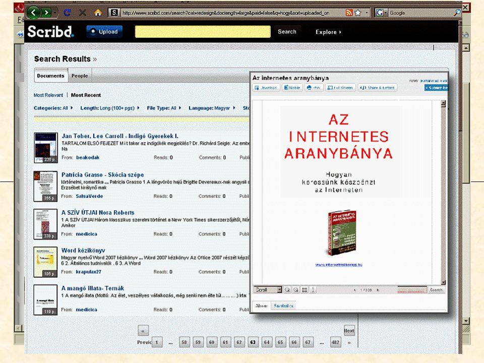 """Magánkezdeményezésű """"e-könyvtárak igényességre törekvő minőség és esetleg metaadatok is, jellemzően már nem védett, vagy engedélyezett könyvek, adott világnézethez vagy témakörhöz sorolható művek, néhány tucattól néhány százig terjed a könyvek száma, változatos formátum: txt, HLP, HTML, Word, PDF, DjVu."""