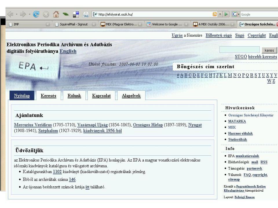 2007.06. 01.Kódex Könyvtáros klub Digitalizálás II.