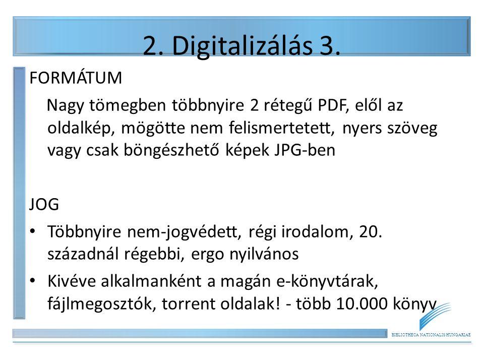 BIBLIOTHECA NATIONALIS HUNGARIAE 3.
