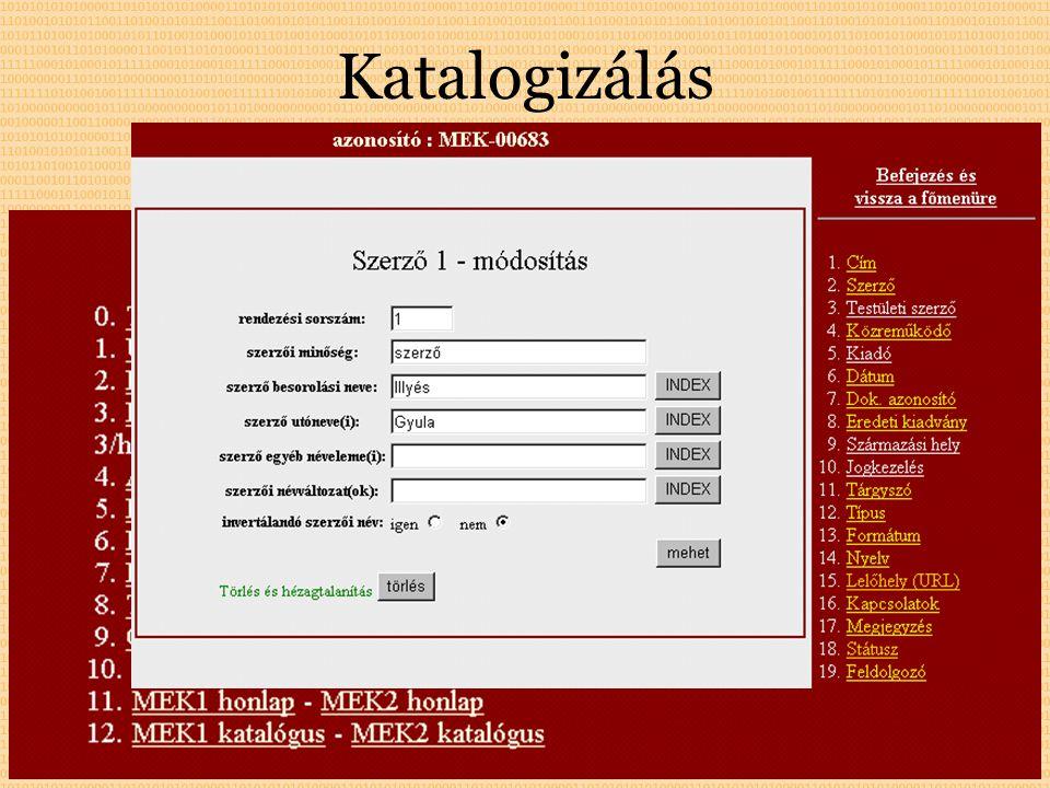 Katalogizálás