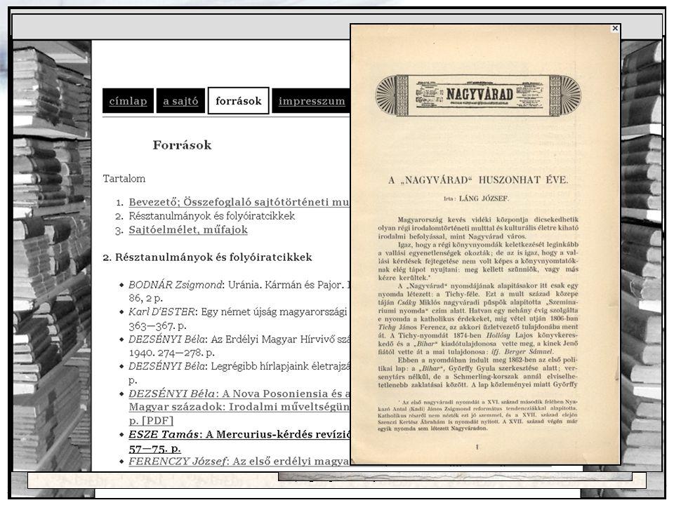 2014. 07. 28. DIGITÁLIS FOLYÓIRATOK AZ OSZK ONLINE SZOLGÁLTATÁSAIBAN 11 Tudatos gyarapítás DIGITALIZÁLÁS nemzeti könyvtári feladatkör állományvédelem
