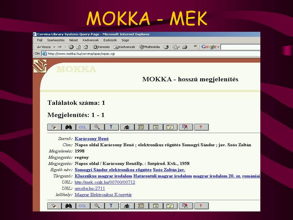 MOKKA - MEK