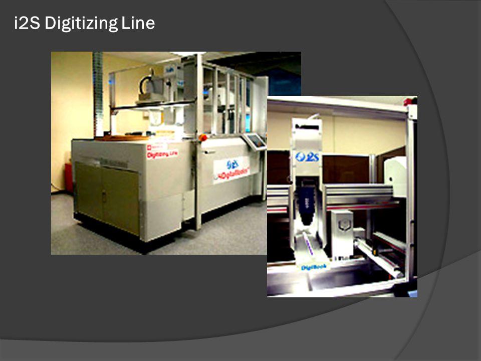 i2S Digitizing Line