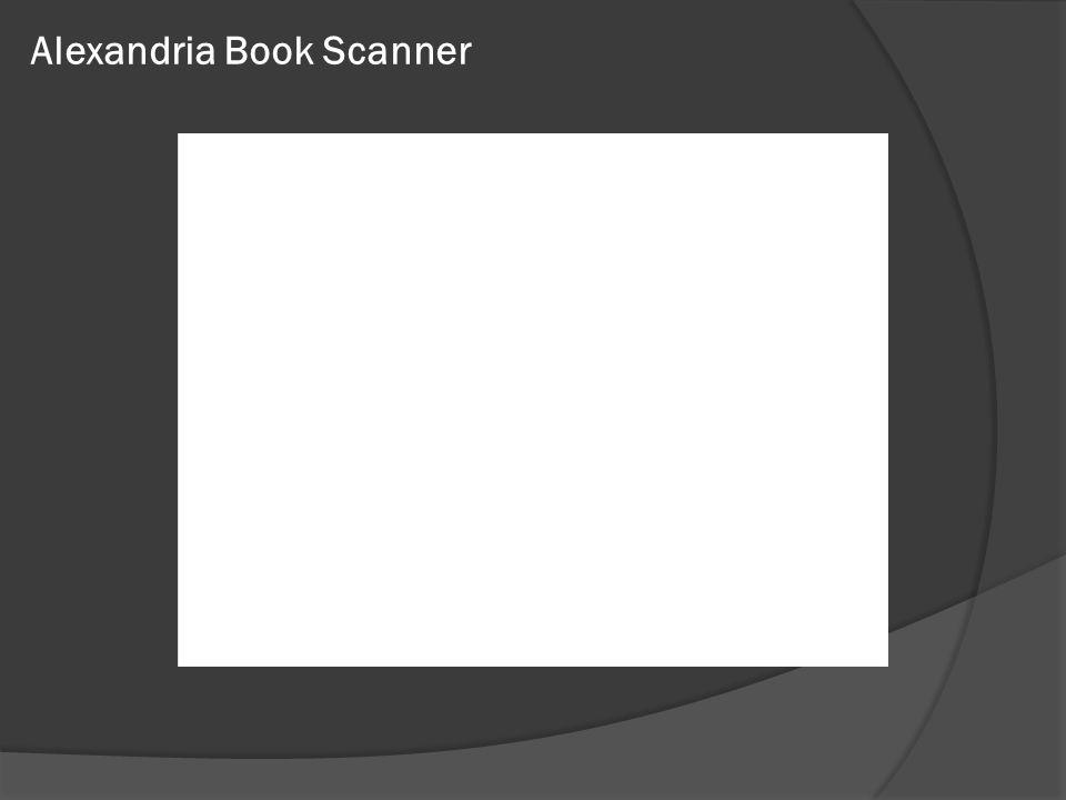 Alexandria Book Scanner