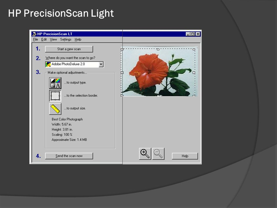 HP PrecisionScan Light