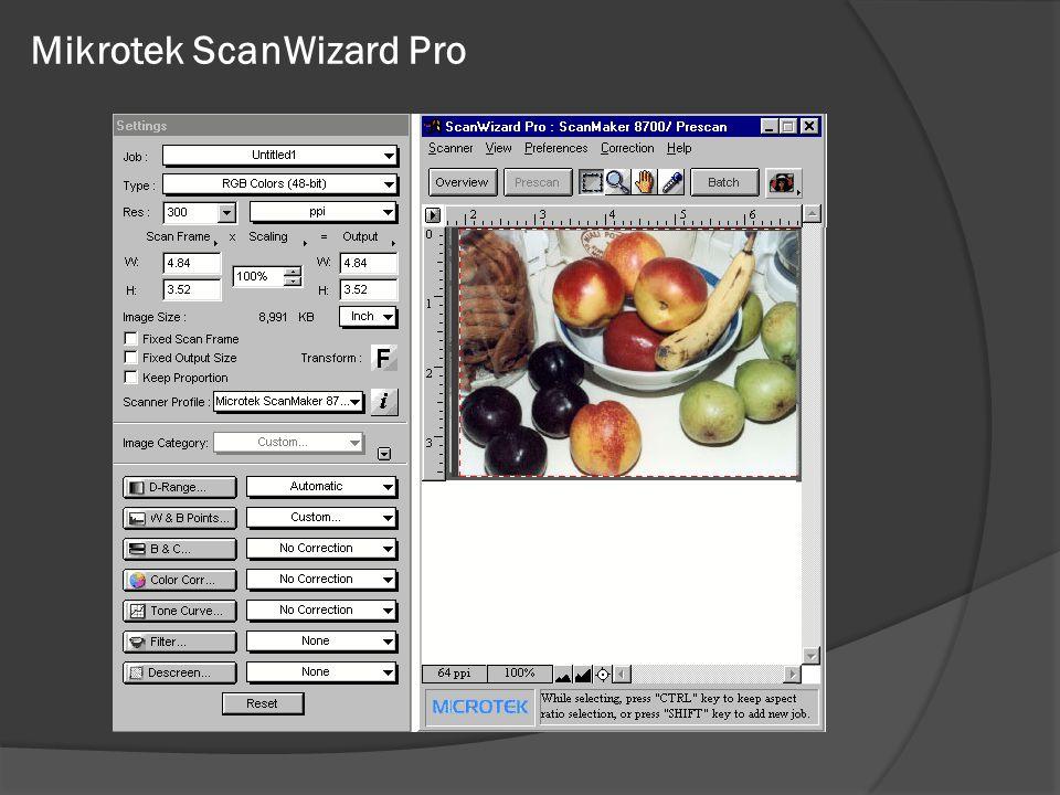 Mikrotek ScanWizard Pro