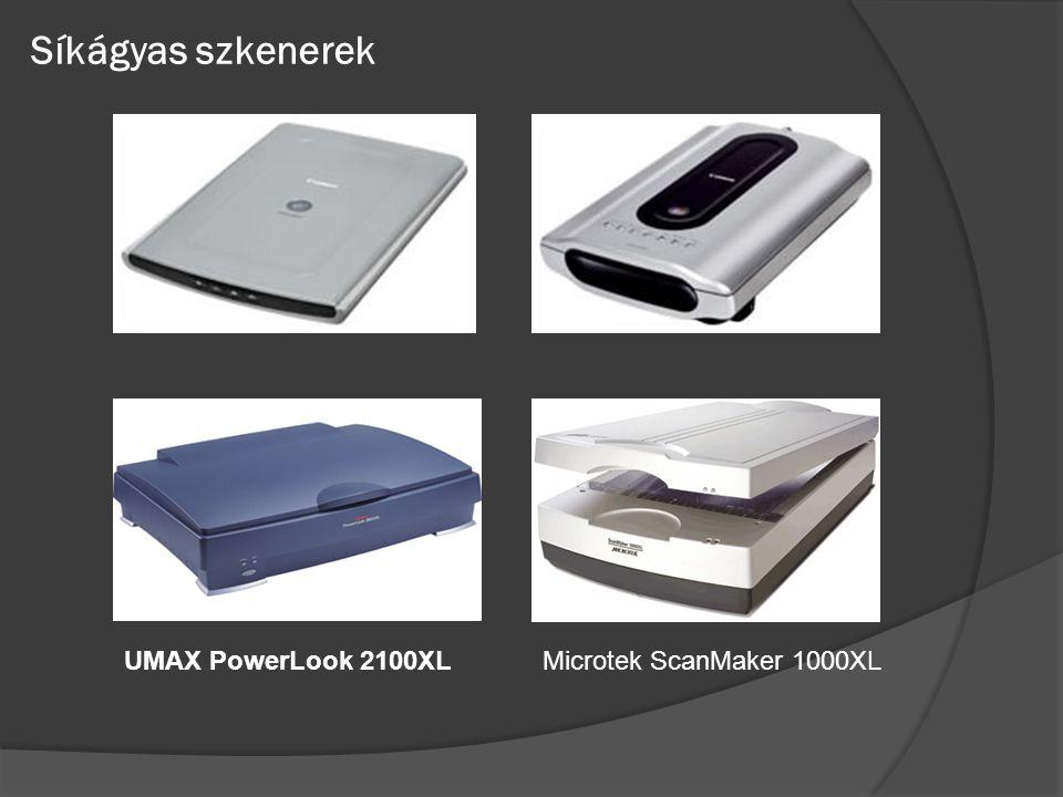 Síkágyas szkenerek Microtek ScanMaker 1000XLUMAX PowerLook 2100XL