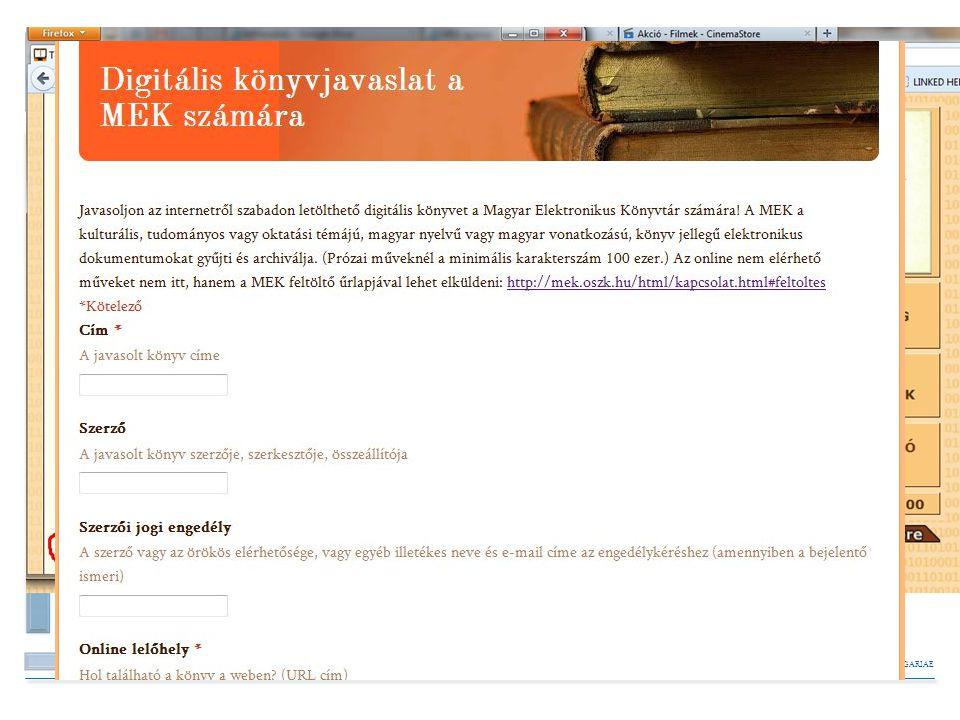 BIBLIOTHECA NATIONALIS HUNGARIAE A források megoszlása Gyűjtés sokféle forrásból: Intézményi és magán honlapokról engedéllyel pl. MTA Közgazdaságtudom