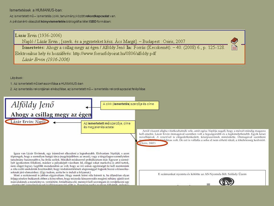 A rekord 799 – (ismertetés) kapcsolati mezejének megjelenítése marc formátumban: A könyvrekordhoz már tartozik három ismertetés.