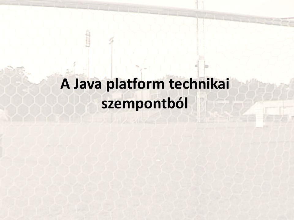 A Java platform technikai szempontból