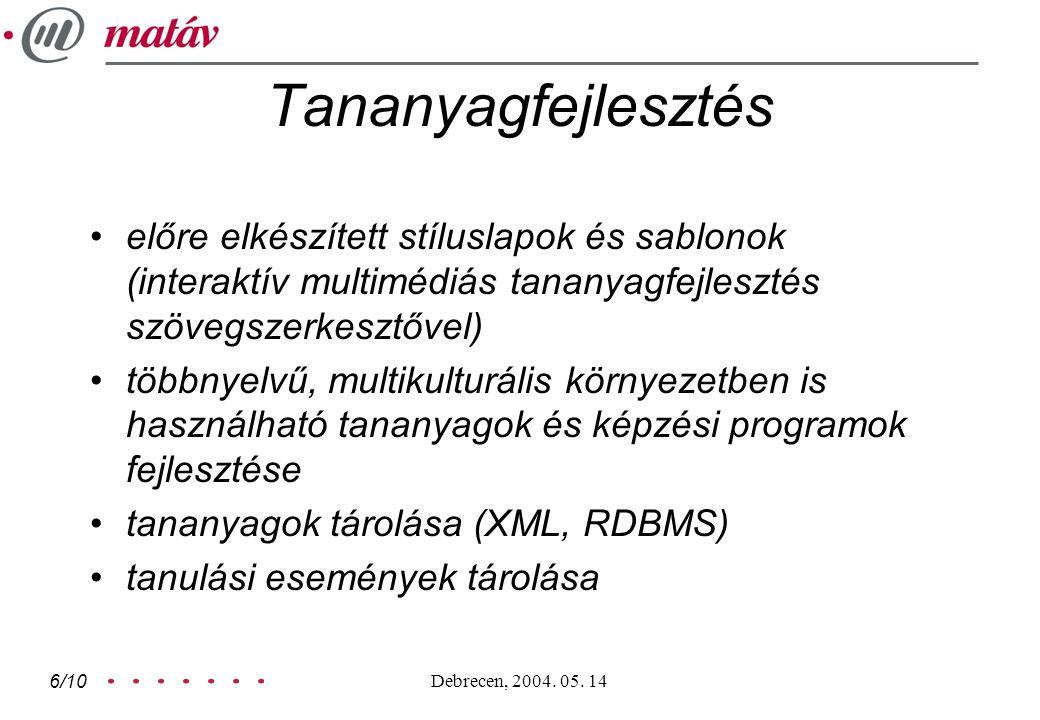 Debrecen, 2004.05.