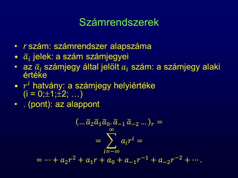 Bináris, oktális, hexadecimális számok 01101101.01110011010111 (2