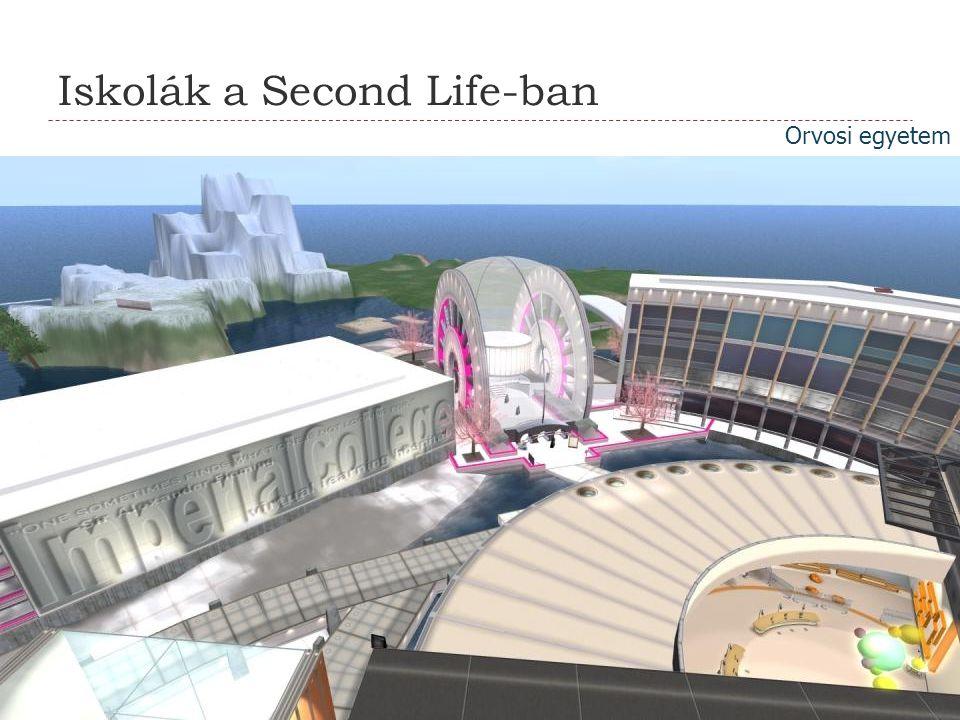 Iskolák a Second Life-ban Orvosi egyetem