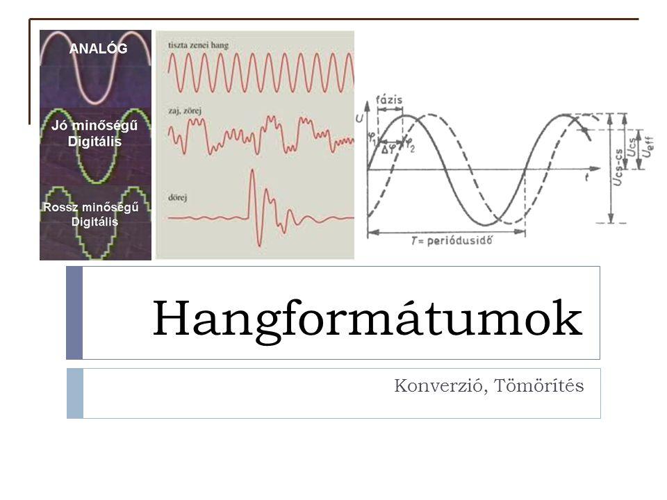  A fül, a hallás által érzékelt inger  Rezgés (frekvencia, amplitúdó)  Tulajdonságai:  Hangosság (a hullám amplitúdójával kapcsolatos)  Hangszín (összefügg a hang összetételével, spektrumával )  Magasság (alapfrekvenciával függ össze) A hang