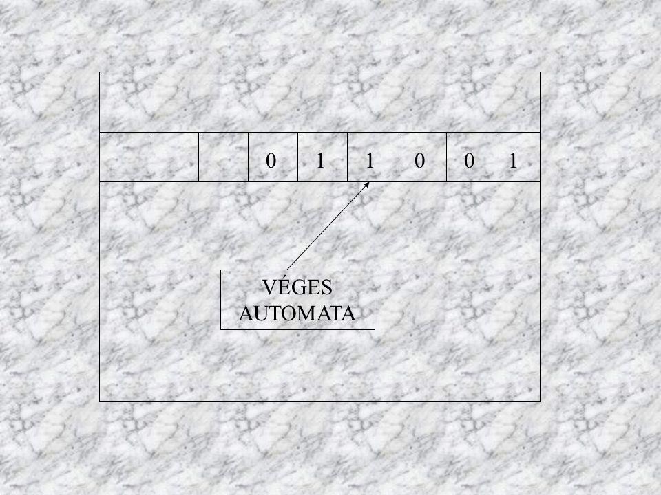 011001 VÉGES AUTOMATA