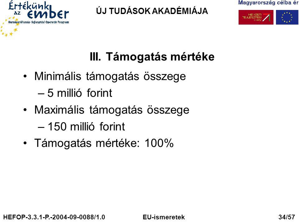 ÚJ TUDÁSOK AKADÉMIÁJA III.
