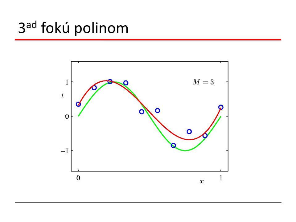 3 ad fokú polinom