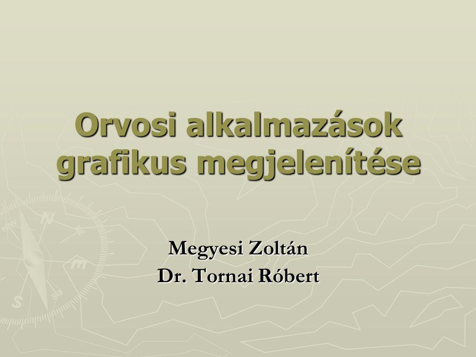 Orvosi alkalmazások grafikus megjelenítése Megyesi Zoltán Dr. Tornai Róbert
