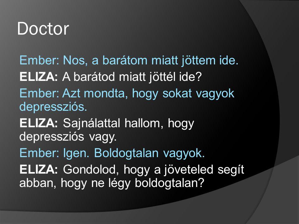 Megvalósítás (deffacts Initial (Beteg )) Miért Initial?(nil érték) másként: (deffacts paciens (Beteg (foltok igen) (kiutesek nem) (torokfajas nem)