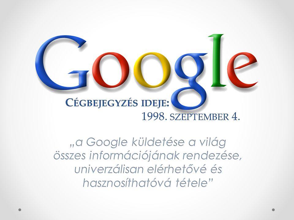 Történelmi pillanat: A világ második legnagyobb technológiai cége lett a Google.