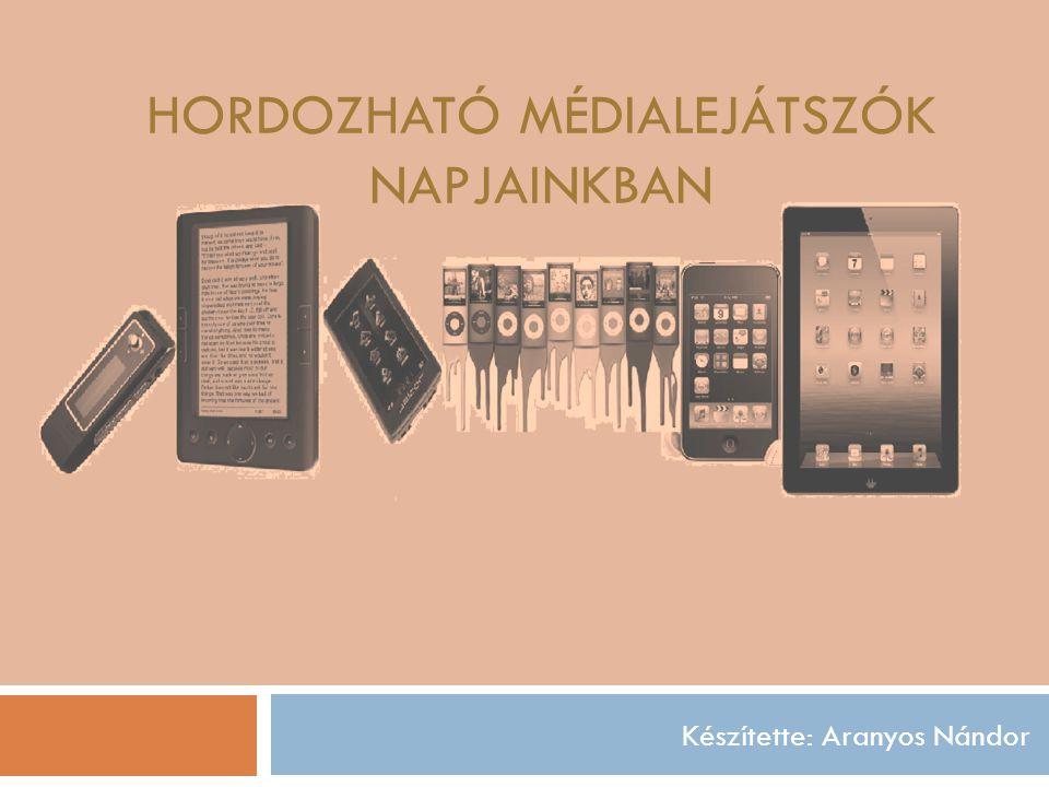 MP3 Történet, megjelenés Kezelt fájlformátumok Egyébb funkció