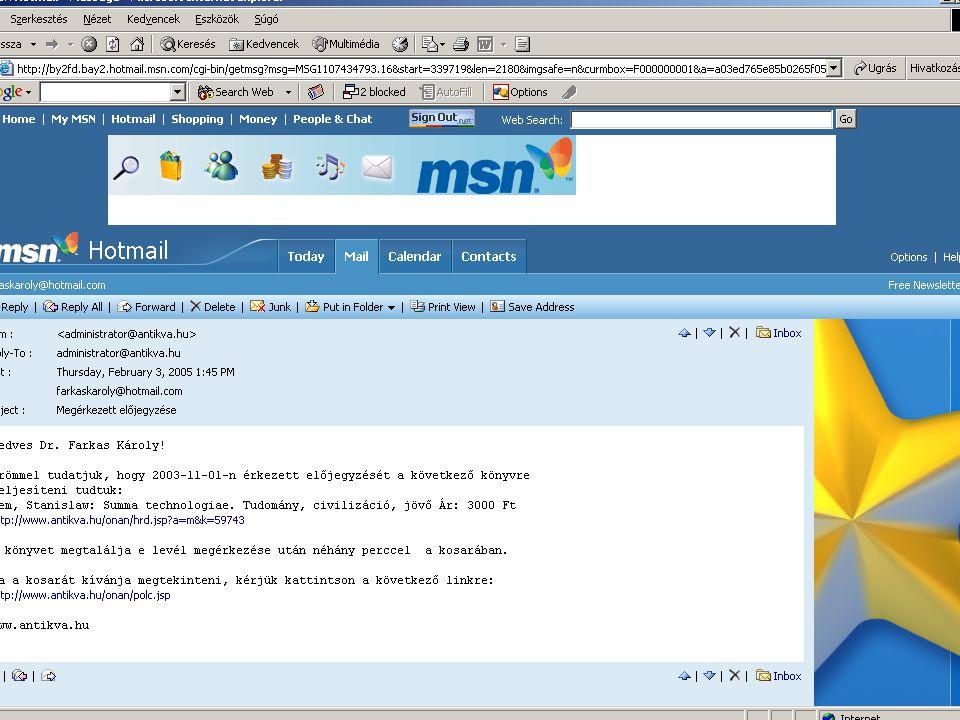 ..és egy harmadik példa Hazánkban is szárnyal az internetes repülőjegy-értékesítés 2005.