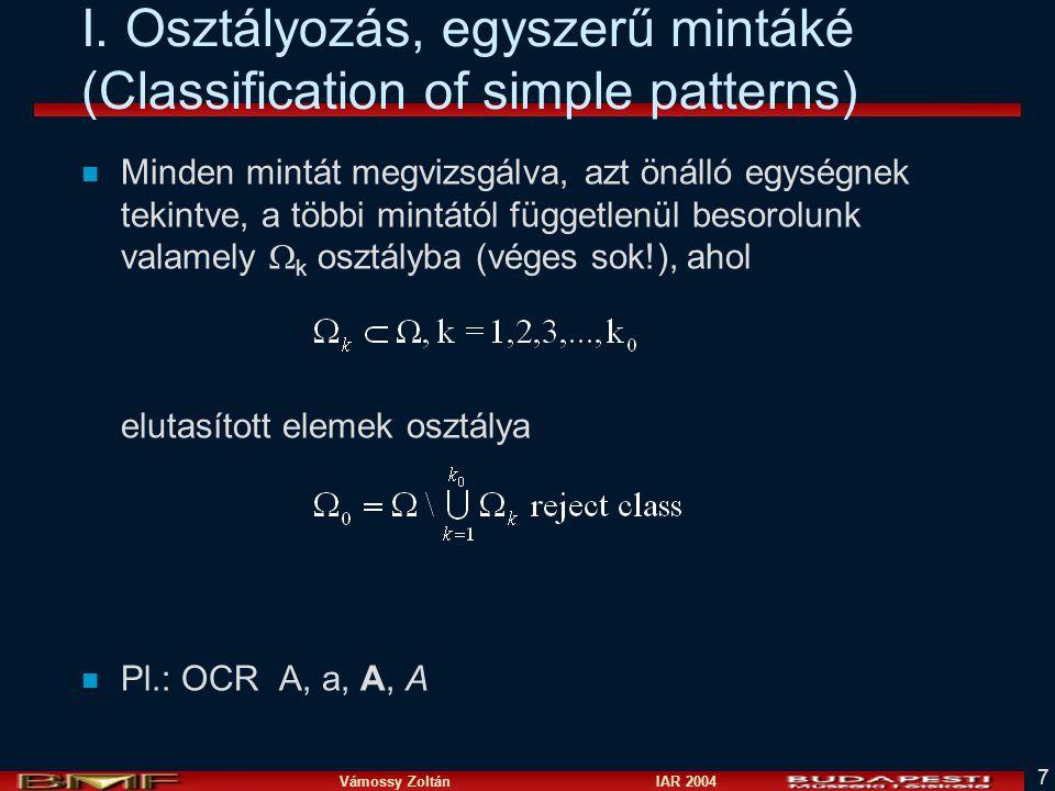 Vámossy Zoltán IAR 2004 7 I.