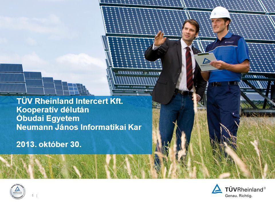 1 | TÜV Rheinland Intercert Kft.
