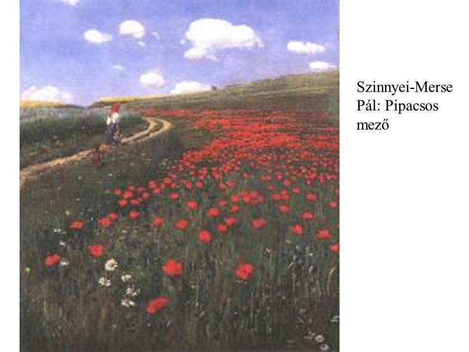 Szinnyei-Merse Pál: Pipacsos mező