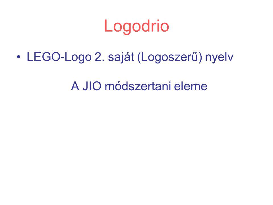 Logodrio LEGO-Logo 2. saját (Logoszerű) nyelv A JIO módszertani eleme