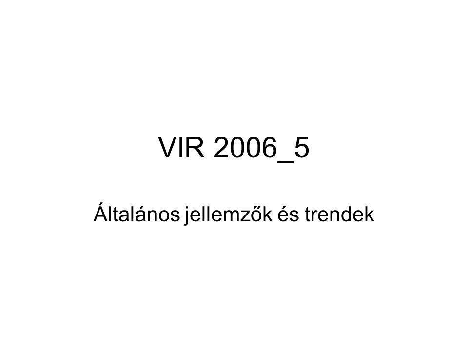 VIR 2006_5 Általános jellemzők és trendek