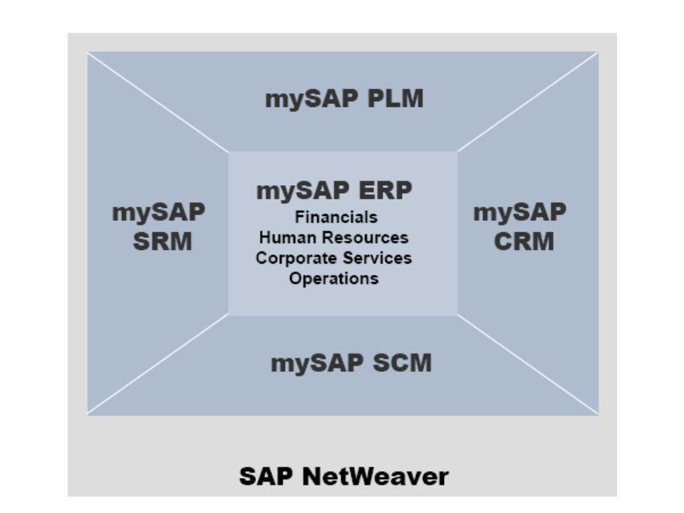 mySAP SRM (Supplier Relationship Mangement - beszállítói kapcsolatkezelési rendszer) Feladata, hogy menedzselje a teljes ellátási ciklust a stratégiától a megvalósításig.