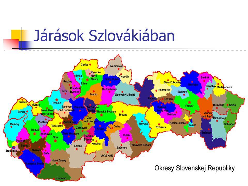 Járások Szlovákiában 22