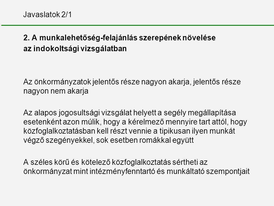 Javaslatok 2/1 2.