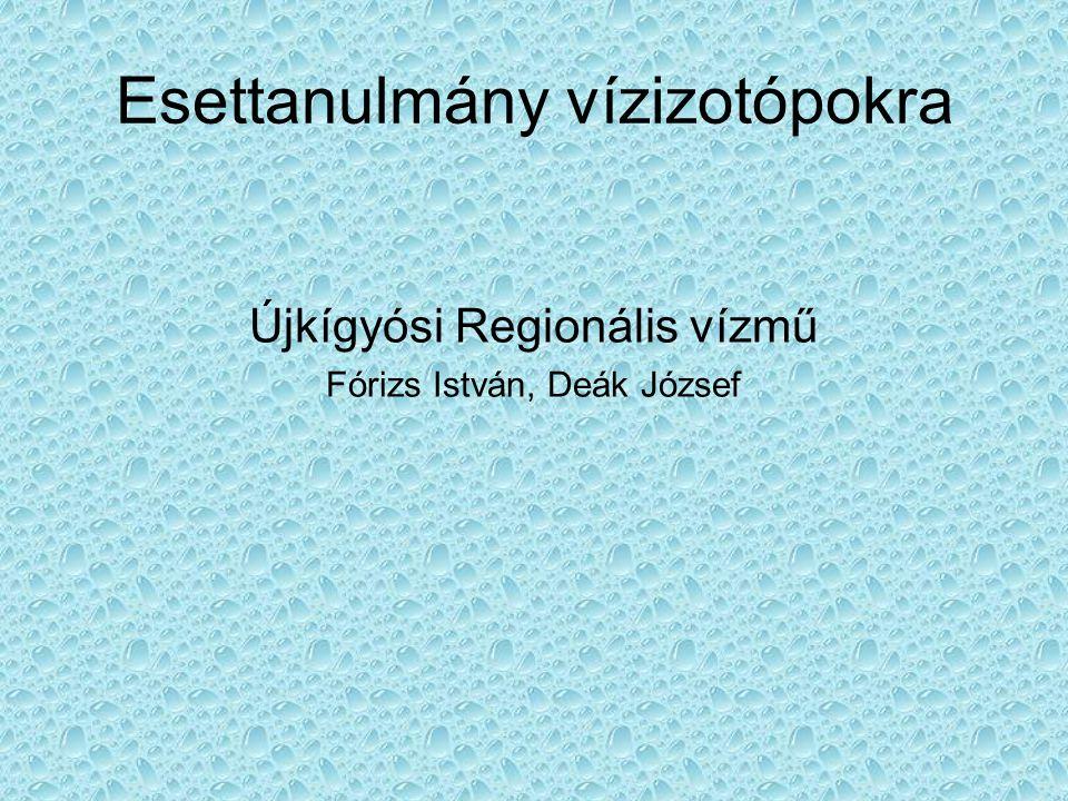 Esettanulmány vízizotópokra Újkígyósi Regionális vízmű Fórizs István, Deák József