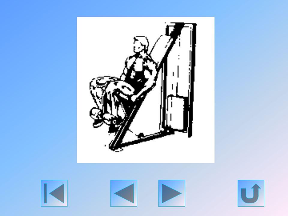 Üljön egy combfeszítő-gépre és lábfejének felső részét - a bokaizületnél - akassza az emelőrúd alá. A két láb egyidejű nyújtásával kezdje el emelgetni