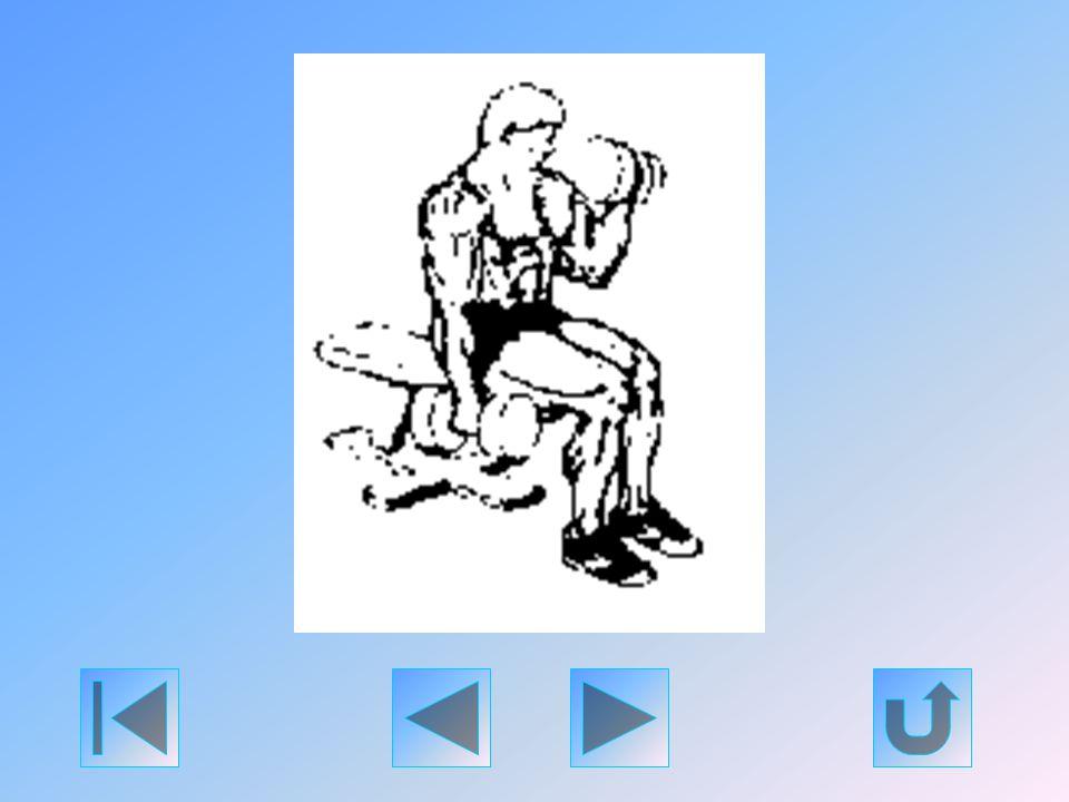 Ez Rocky De Ferro kedvenc gyakorlata. Közvetlenebb módon mozgatja meg a bicepszet, mint a kétkaros karhajlítás, mivel megakadályozza a túlzott hátradő