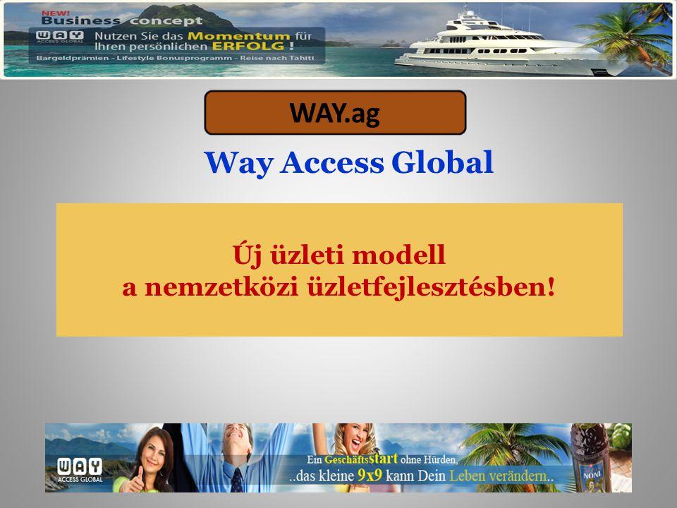 Agenda  WAY.ag – A rendszer  A WAY.ag rendszer felépítése és a háttere  A WAY.ag rendszer részvételi feltételei- ingyenes és fizetős  WAY.ag tények és számok Tartalom