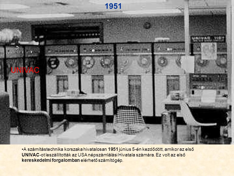 1958-ban elérkezett a második generációs gépek gyártása ami abban tért el az elötte lévőktől, hogy az elektron csöveket felváltotta, a tranzisztor.