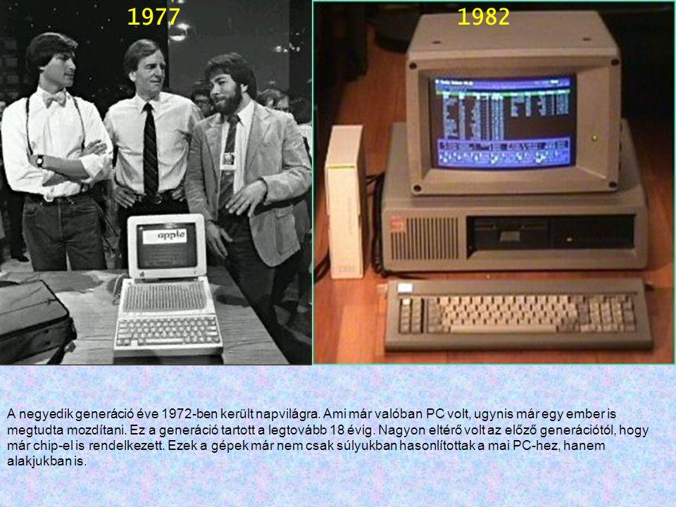 Ez a korszak eltérő volt a többitől ugyanis, már szinte mindenki számára elérhetővé váltak a PC-k.