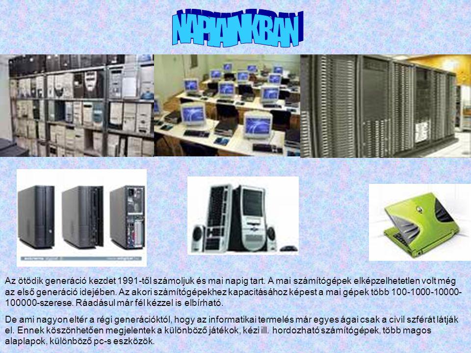 Egyre nagyobb számban jelennek meg a szórakozást nyújtó számítógépes játékok.