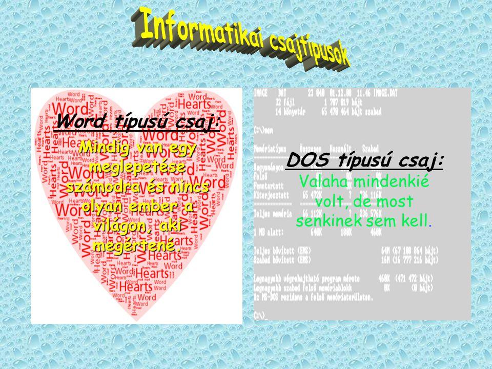 Word típusú csaj: Mindig van egy meglepetése számodra és nincs olyan ember a világon, aki megértené.