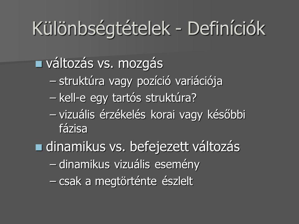 változás vs.különbség változás vs.