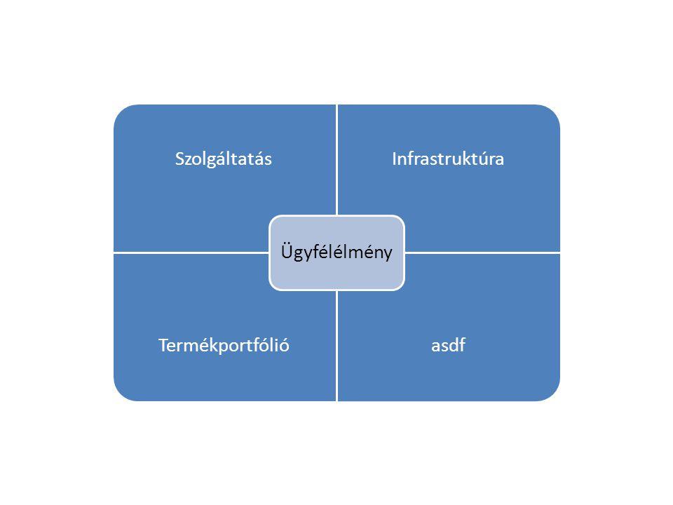 SzolgáltatásInfrastruktúra Termékportfólióasdf Ügyfélélmény