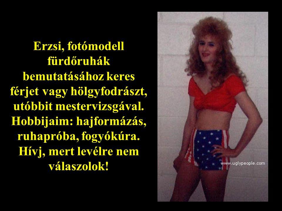 Natasa Oroszországból keresek pár! Nagyon takarékos, csinálja ruhája magának. 40 évig volt Párt tag. Nem dohányozik, nem iszik (Vodka), jól bír hidege