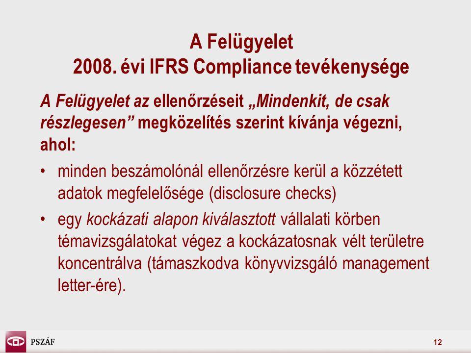 12 A Felügyelet 2008.
