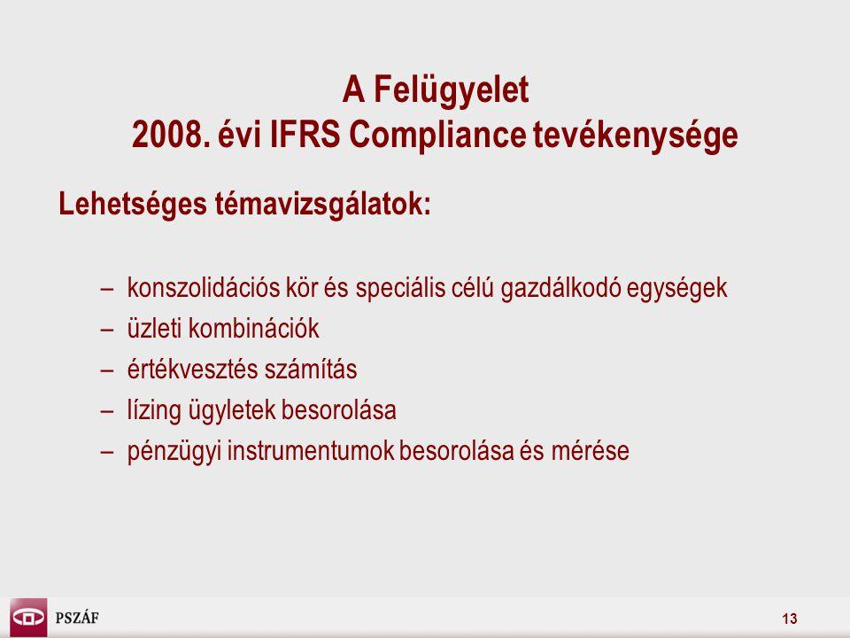 13 A Felügyelet 2008.