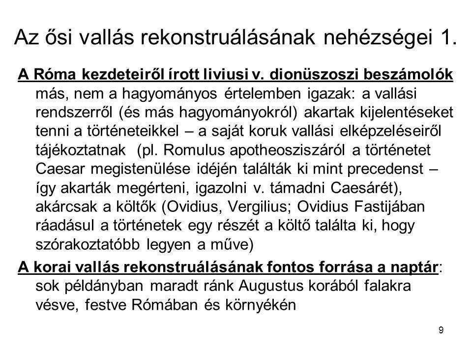 40 Papság és politika 3.pl.